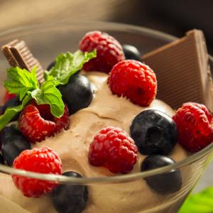 MOUSSE DE CHOCOLATE Y MASCARPONE