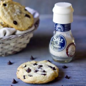 Cookies de chocolate con sal marina