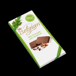 CHOCOLATE CON AVELLANAS REDUCIDO EN AZÚCAR