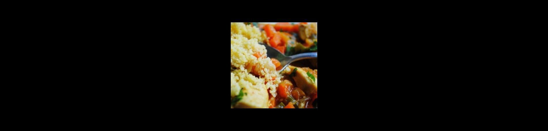 Pollo al curry con Couscous